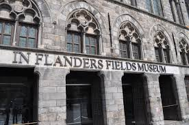 In Flanders Fields Museum te Ieper.